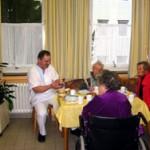 Wohnküche für Demenz im Krankenhaus