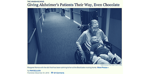 Giving Alzheimer's Patients Their Way, Even Chocolate