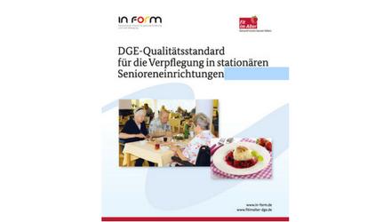 Standard für die Verpflegung in stationären Senioreneinrichtungen