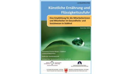 Neue Broschüre zur künstlichen Ernährung
